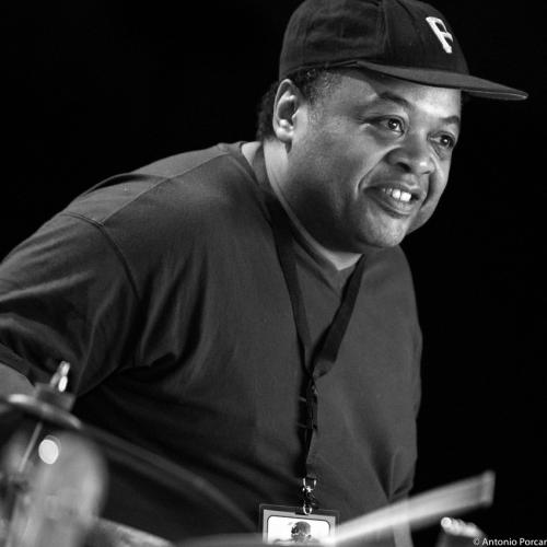 "Jeff ""Tain"" Watts in Getxo Jazz 2015."
