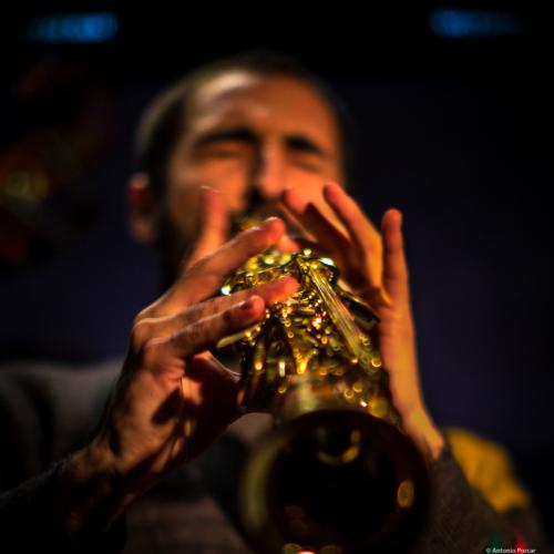 Joan Saldaña (2017) in Jimmy Glass Jazz Club. Valencia.