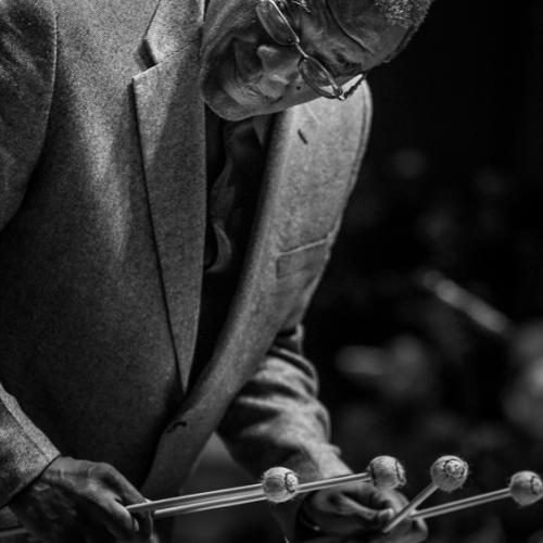 Joe Chambers (2017) in Saint Peter's Church of NYC. Bobby Hutcherson Memorial