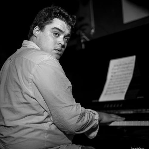 Juan Sebastián Vázquez (2017) at Jimmy Glass Jazz Club. Valencia.
