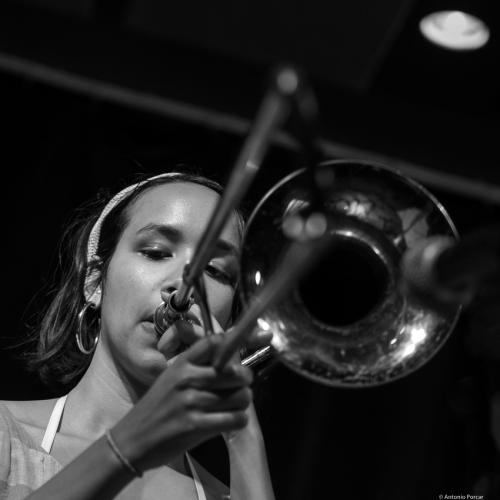 Kalia Vandever. The Jazz Gallery. NYC, 2018.