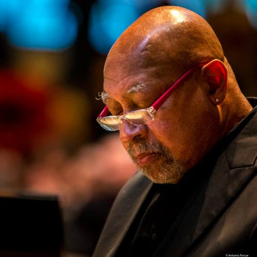 Kenny Barron (2017) at Saint Peter's Church of NYC. Bobby Hutcherson Memorial