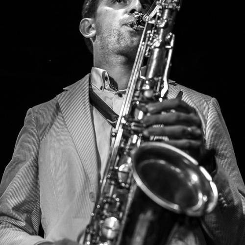 Lenart Krecic (2018) at Jimmy Glass Jazz Club. Valencia.