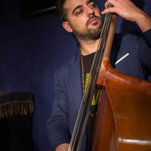 Luca Alemanno (2020) at Jimmy Glass Jazz Club. Valencia.