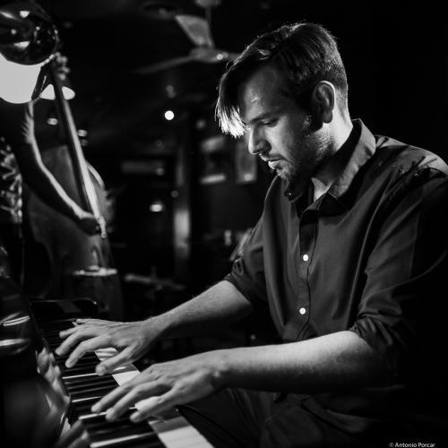 Ludwig Hornung (2019) at Jimmy Glass Jazz Club. Valencia.