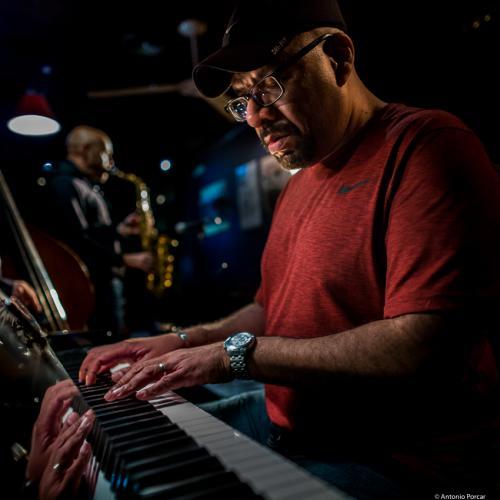 Luis Perdomo (2018) at Jimmy Glass Jazz Club. Valencia.