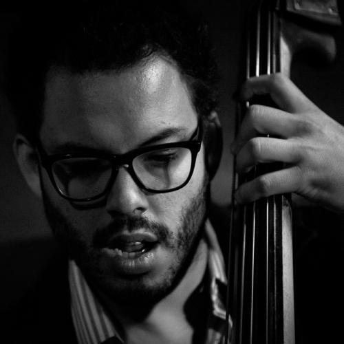 Martín Léiton (2015) in Jimmy Glass Jazz Club. Valencia.