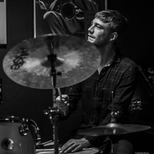 Mathias Ruppnig (2019) at Jimmy Glass Jazz Club. Valencia.