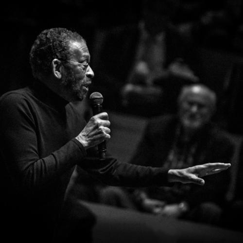 Maurice Hines (2017) in Saint Peter's Church of NYC. Bob Cranshaw Celebration of life