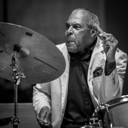 Michael Carvin (2017) in Saint Peter's Church of NYC. Bobby Hutcherson Memorial