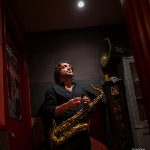 Noah Preminger (2019) at Sunset Jazz Club.