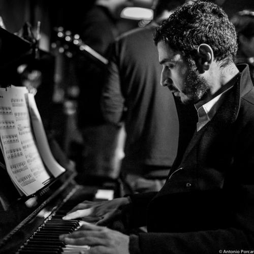 Oscar Marcelino da Graça (2015) en Jimmy Glass Jazz Club. Valencia