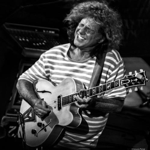 Pat Metheny at Festival de Jazz de Valencia, 2018.