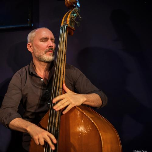 Reid Anderson (2019) at Jimmy Glass Jazz Club. Valencia.