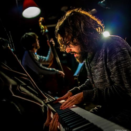 Roger Santacana (2016) in Jimmy Glass Jazz Club. Valencia