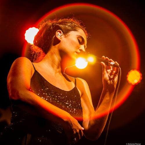 Silvia Pérez Cruz at Heineken Jazzaldia 2019.