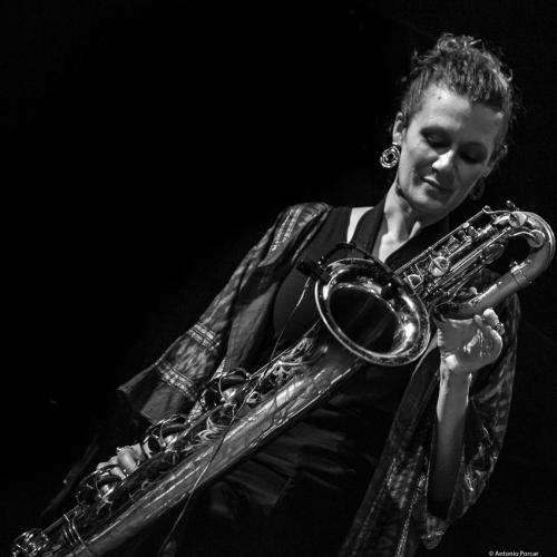 Tamar Osborn at Jazinec 2017. Trutnov.