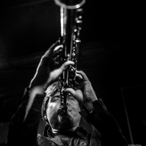 Tim Ries at Jimmy Glass Jazz Club. Valencia. 2017.