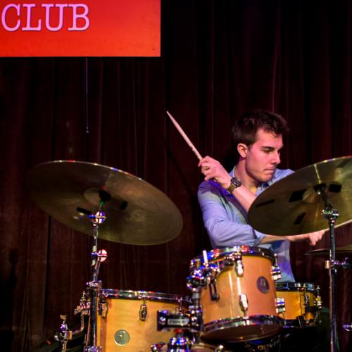 Vaclav Palka (2016) in Reduta Jazz Club. Prague.