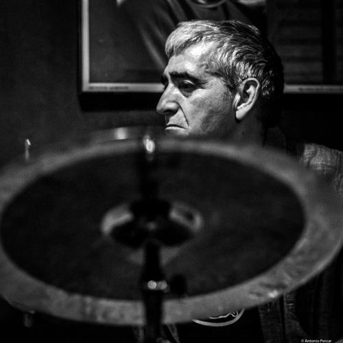 Vicente Espí (2018) in Jimmy Glass Jazz Club. Valencia.